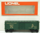 Lionel 6-9742 Green Minneapolis and St. Louis Boxcar NIB