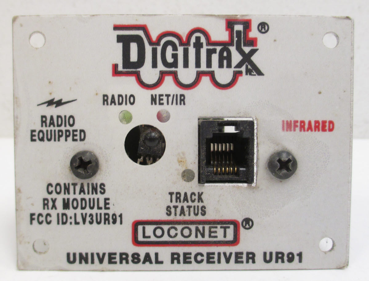 Digitrax Ur91 Wiring Electrical Diagram Dcc Pm42 Buy Wireless Radio Ir Receiver Panel Trainz Auctions Rh Marketplace Trainzauctions Com Dh126d