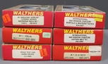 Walthers HO Scale Freight Cars: 932-2471, 932-4362, 932-4357, Etc [6]/Box