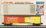 Lionel 6-9885 Lipton Tea Billboard Reefer Car NIB