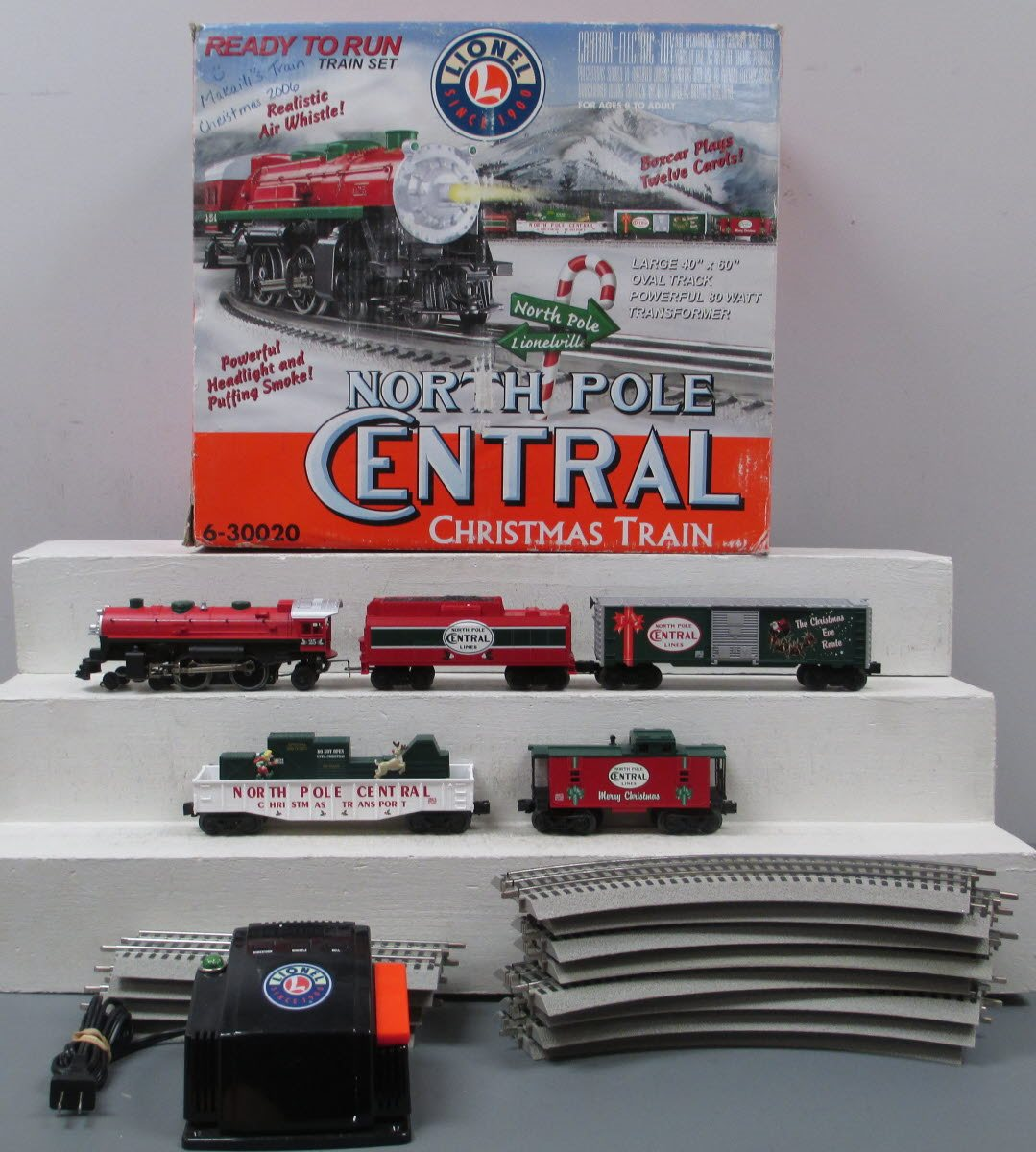 Lionel Christmas Train.Buy Lionel 6 30020 North Pole Central Ready To Run Christmas