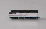 Kato 176-6102 N Scale Amtrak F40PH #376 - Phase III Powered Diesel Locomotive EX