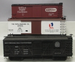 Bachman G Scale Freight Cars: 608G, 98118, & 93396 (Plastic Wheels) [3]