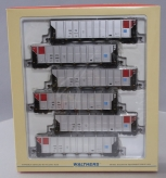 Walthers 932-7813 HO Scale Northern States Power Co RD4 Coal Hopper 6-Pack LN