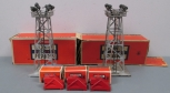 Lionel Die-Cast Bumpers, 4-Light Floodlight Towers: 260, 395 (5)/Box