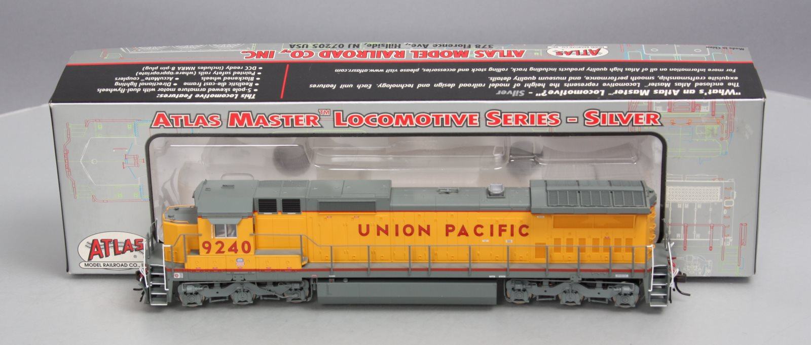 Atlas 205 Dcc Wiring Diagrams Dimmable Led Buy Ho Union Pacific Dash Powered Diesel Locmotive 1600x682