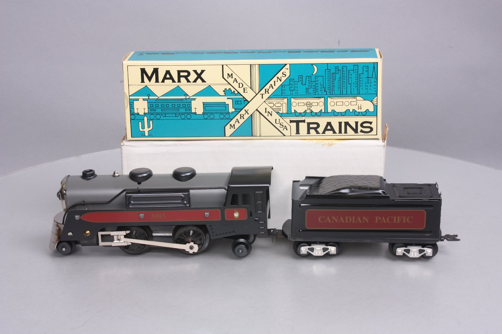 Buy Marx 8341 O Gauge Canadian Pacific 2-4-2 Electrical Steam
