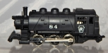 HO scale Rivarossi #84 0-6-0 Pennsylvania Railroad Steam Engine Vintage PRR runs