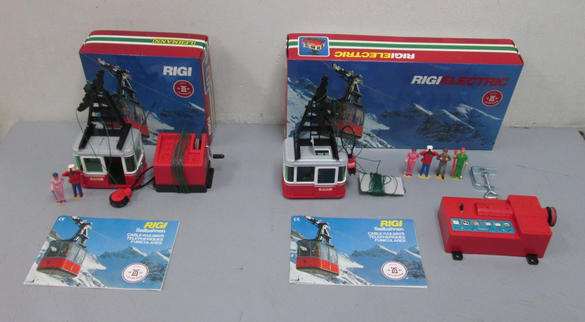 Buy LGB G Scale Electric Cable Car Kit & Additional Cable Car: 09009 ...