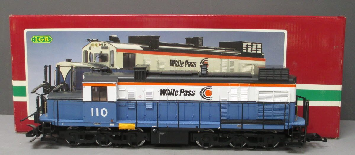 Buy LGB 2055 White Pass Diesel Locomotive #110 EX/Box