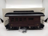 Delton 9511 G Pennsylvania Short Combo Illuminated Passenger Car w/ Metal Wheels