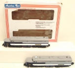 American Flyer 6-48100 S Scale Wabash PA-1 Diesel Locomotives EX/Box