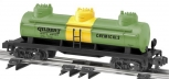 American Flyer 6-48437 S Scale Gilbert Chemicals  3-Dome Tank Car NIB