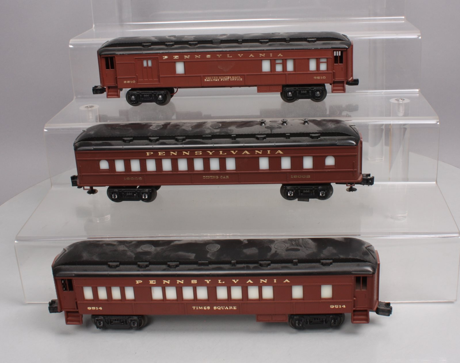 Buy Lionel O Gauge Pennsylvania Passenger Cars 6 9510 6 9514 & 6