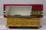 LGB 4268S Yellow Cattle Sounds Stock Car LN/Box