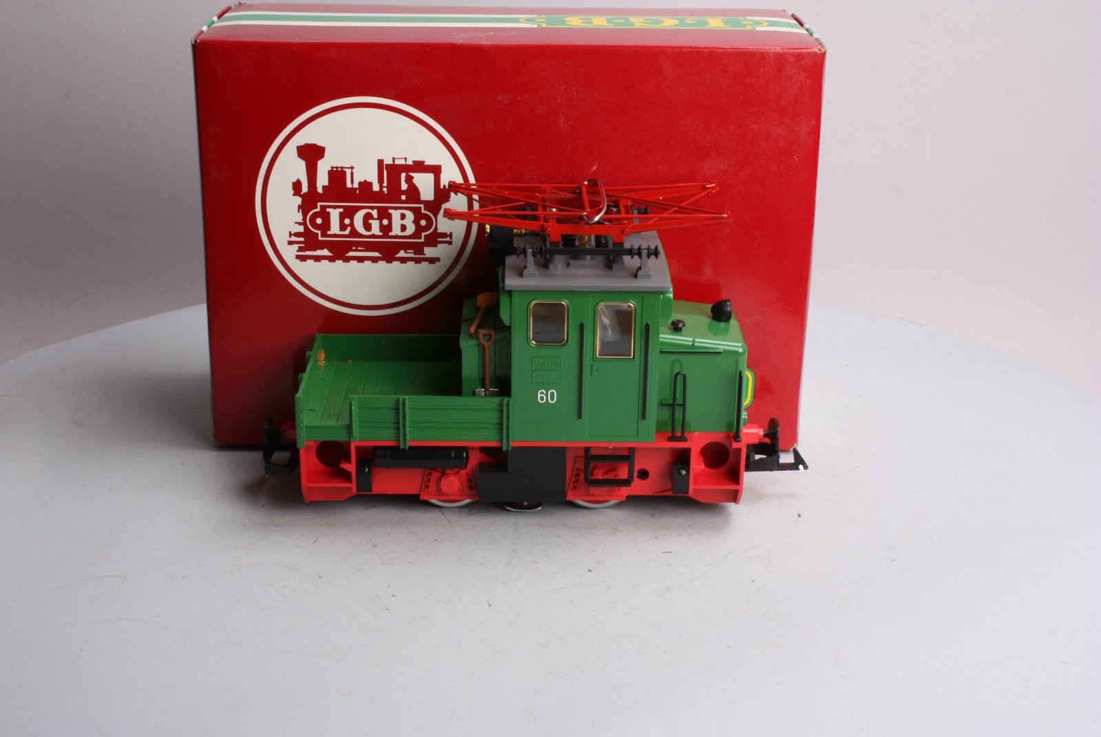LGB 2033 Small 0-4-0 Electric Work Train Locomotive EX/Box  LGB 2033