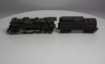 Lionel 2037 Die-Cast Steam Locomotive w/ 6026W Tender