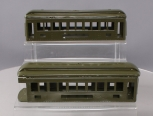 Lionel Standard Gauge Tinplate Pullman & Observation Car Bodies [2] - Repainted