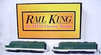 MTH 30-2151-1 Rail King Southern Alco PA AA Diesel Set with Proto - Southern Cab #s 6902 and 6903