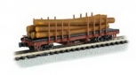 Bachmann 18352 N ACF 40' Log Car 1935-1960 Version LN/Box