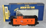 American Flyer 6-48715 Milwaukee Road Caboose Lighted S Offset Cupola dicast trx