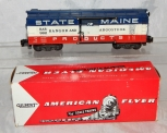American Flyer 982 Bangor & Aroostoock State of Maine Boxcar BAR w/BOX S scale