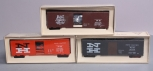 American Models S Scale New Haven Boxcar Kits: 37051, 36170, 35515 [3] EX/Box