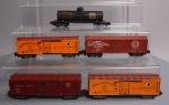 American Flyer S Scale Assorted Postwar Freight Cars; 929, 947, 947, 942, 912 [5