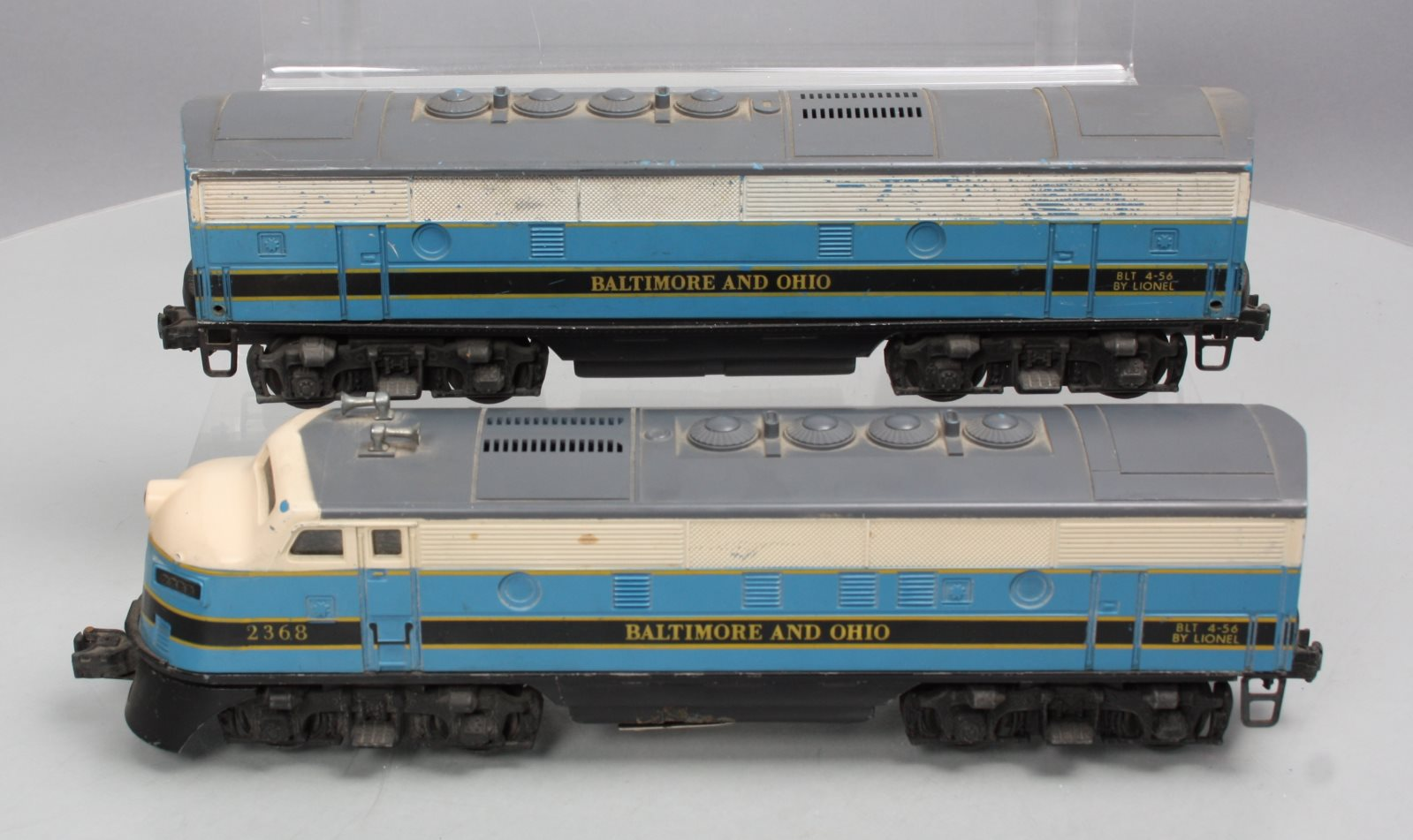Lionel 2368 Baltimore & Ohio F3 AB Diesel Locomotives 023922623683 Lionel  2368