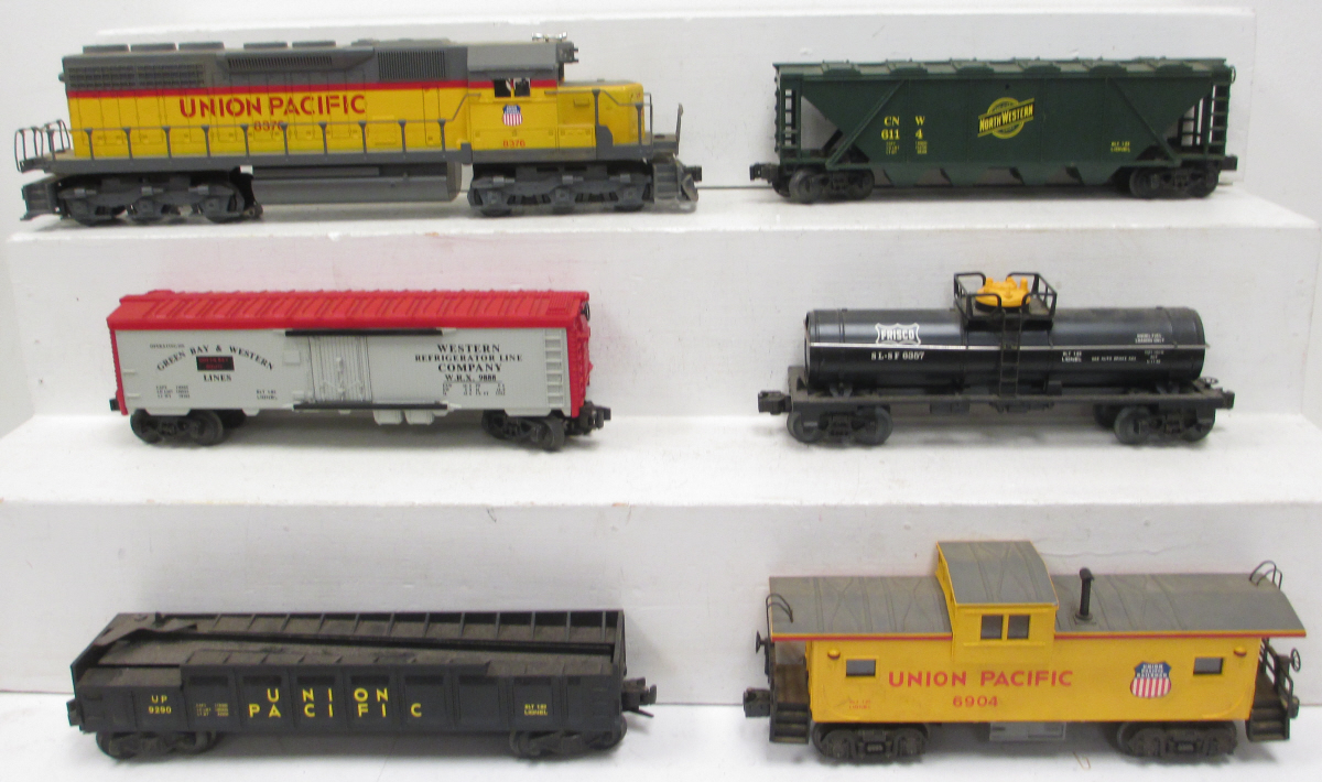 Lionel 6-1361 Union Pacific Gold Coast Limited Set/Box 023922613615 Lionel  6-