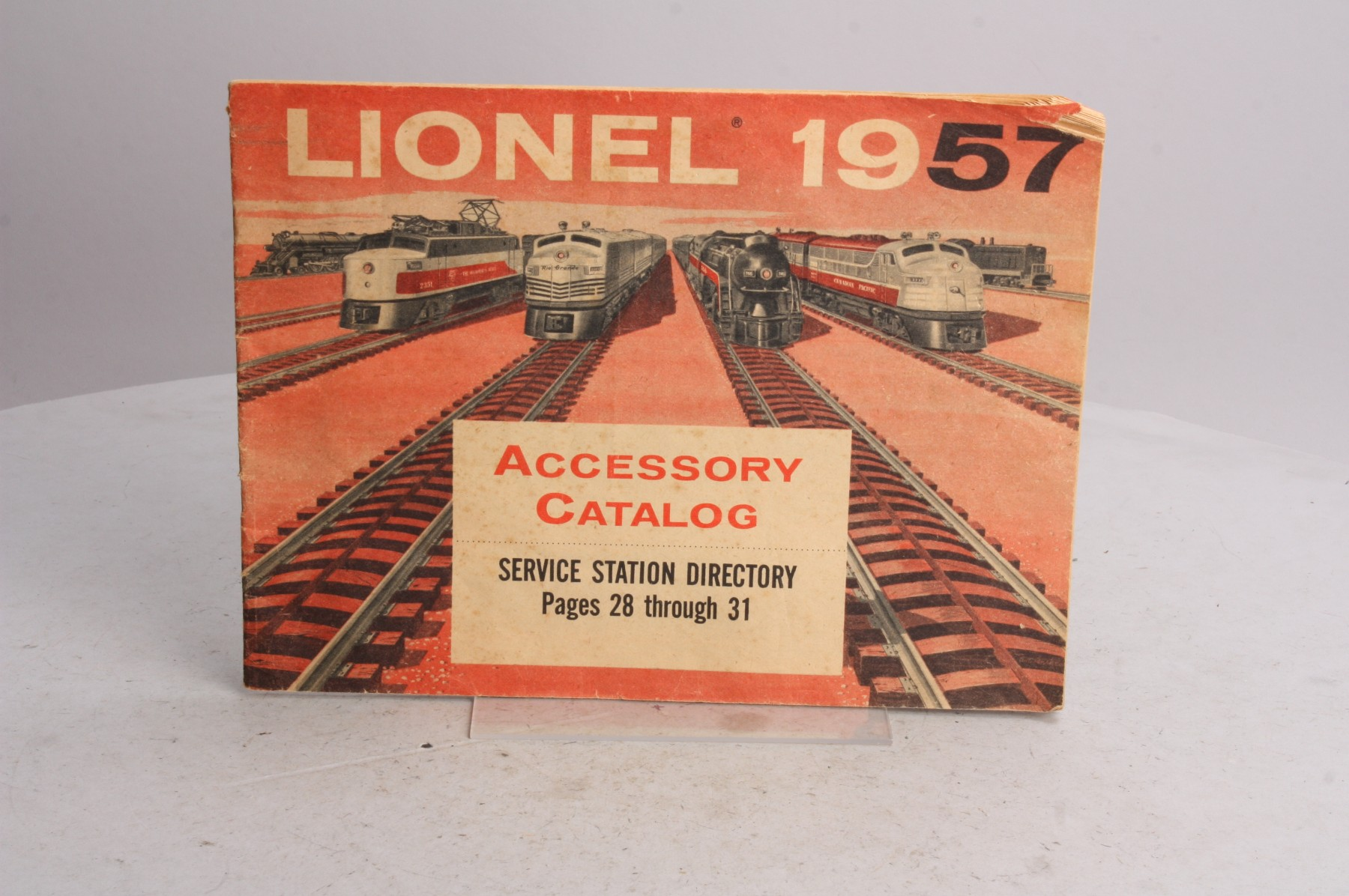 Buy Lionel 1957 Accessory Original Catalog | Trainz Auctions