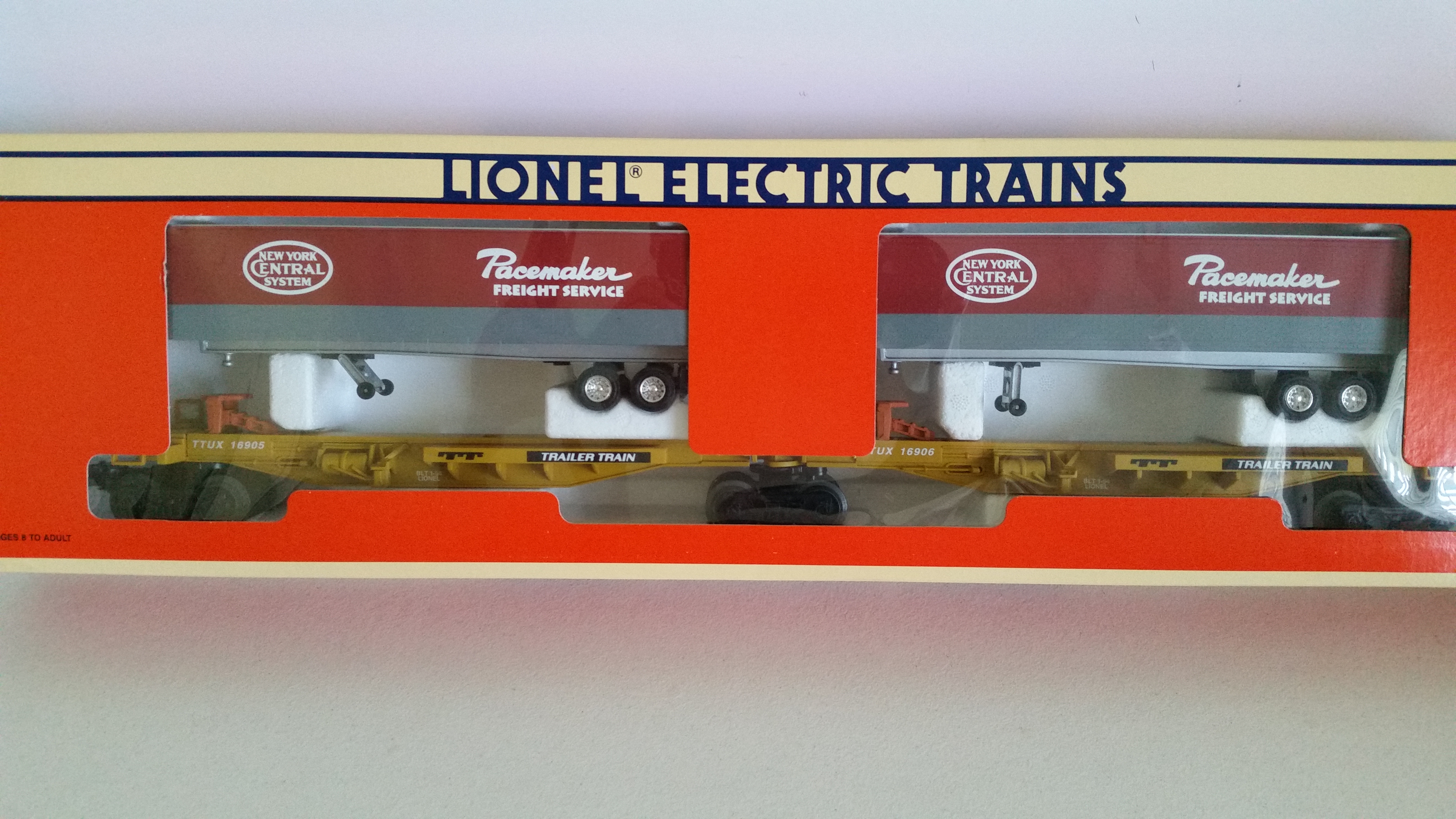 Lionel 6-16904 New York Central T.T.U.X. Intermodal