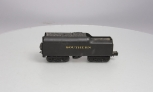 Lionel O Gauge Postwar Whistle Tender- Repainted/Redecorated for Southern