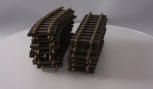 LGB & Other G Scale 12 Inch Straight Track & Curved Track Sections [20]