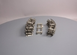 Lionel Vintage Tinplate 2-Rail Track Sections For Clockwork Trains [16 Pieces]