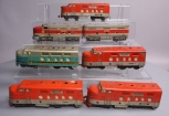 Marx O Gauge Postwar Southern Pacific, B&O and Monon Diesels: 6000, 62, 81 [7]