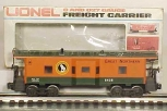 Lionel 6-6438 O Scale Great Northern Bay Window Caboose LN/Box