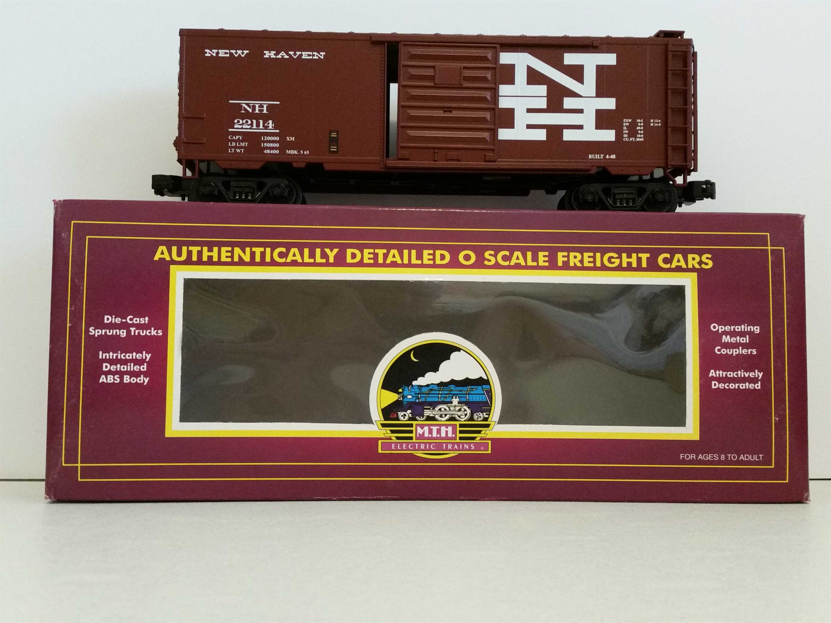 MTH 20-94012 New Haven Reefer #45097