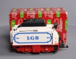 LGB 2217/6 G Circus Twin Axle Motorized Coal Tender/Box