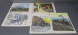 John Lass Productions Train Prints -Signed and Numbered (5) LN