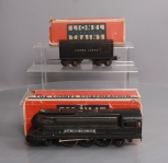 Lionel 1668 2-6-2 Lionel Lines Gunmetal Torpedo Steam Locomotive & Tender