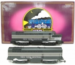 MTH 20-2294-1 New York Central Sharknose AB Diesel Loco Set EX