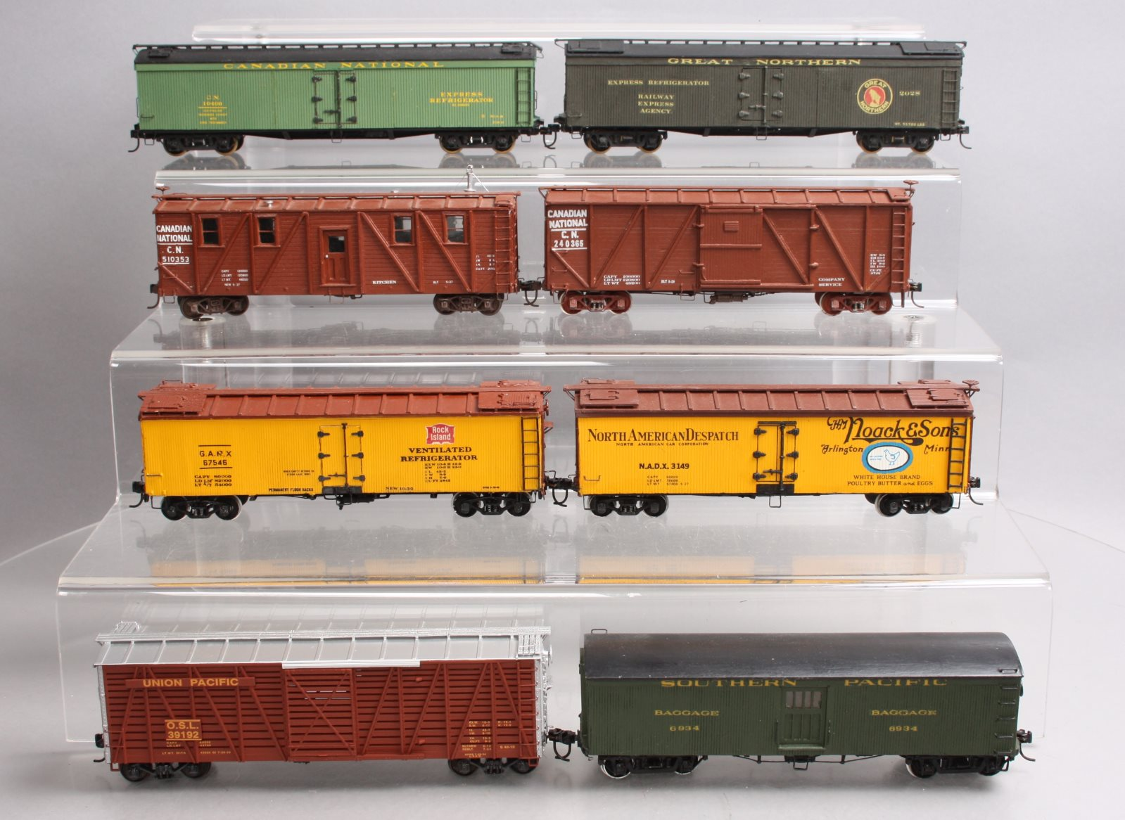 Buy S Gauge Assorted Freight Cars [8] | Trainz Auctions