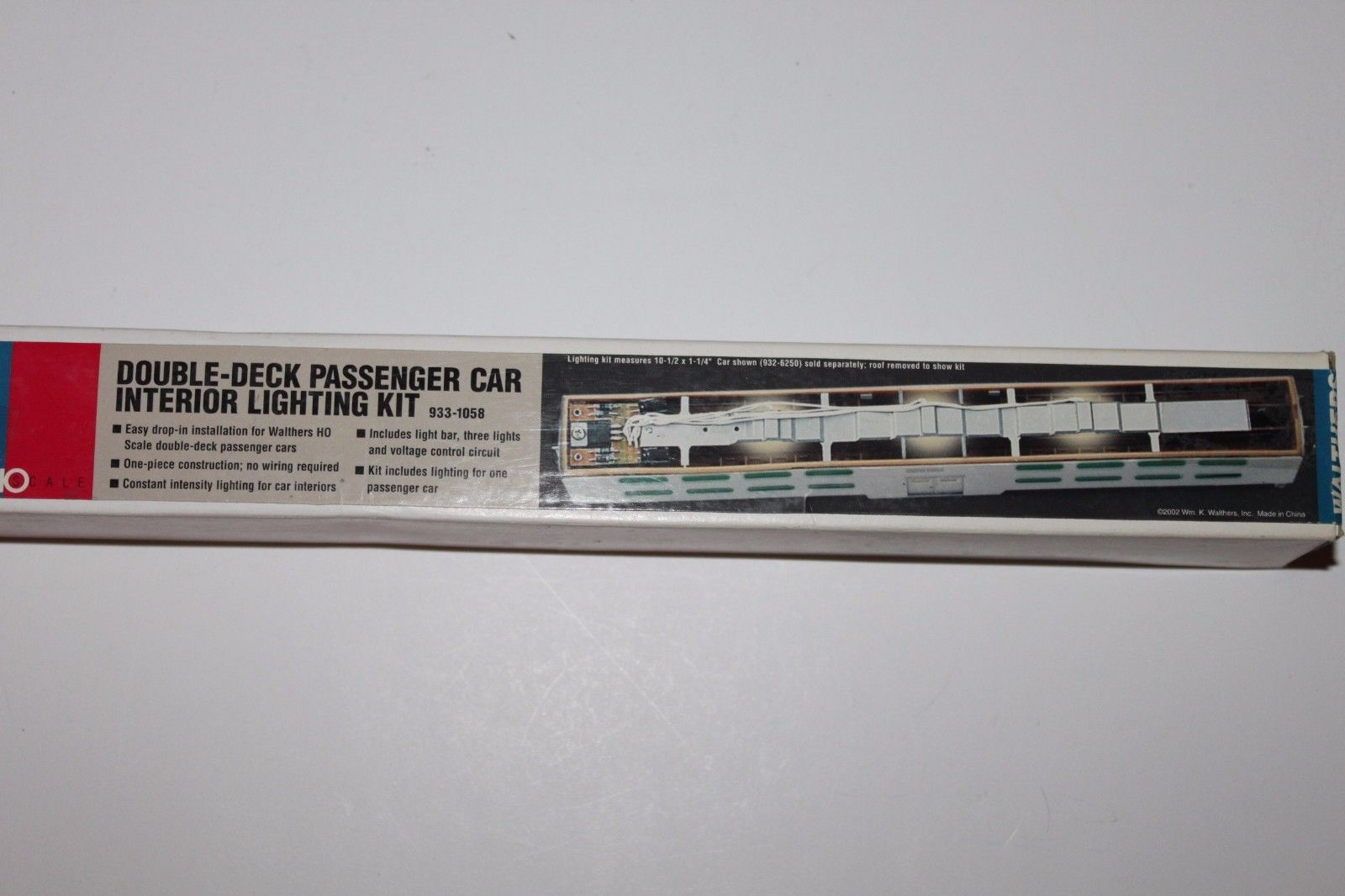 Walthers 933-1058 HO Double-Deck Passenger Car Interior Lighting Kit NIB 616374022571 Walthers 933-1058