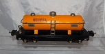 CLEAN Lionel 2815 Shell orange tank car prewar 1938-42 Decal Nickel Plates Auto