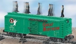 American Flyer 6-49031 S Scale Great Northern Operating Walking Brakeman Car NIB