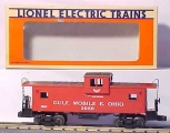 Lionel 6-19721 GM&O Extended Vision Caboose NIB