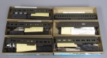 Athearn HO Scale Undecorated Passenger Car Kits: 1860, 1840, 1854, 1870, 1890 [6