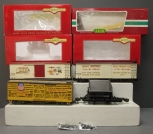 Bachmann LGB G Scale Freight Cars:  93705,  92504, 93364, 44680  - Metal & Plast