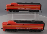 MTH O Scale Southern Pacific #6014 & #6016 AA Diesel Locomotives EX